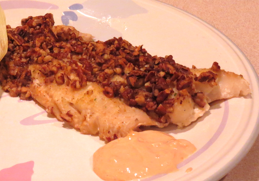 Haddock with Pecan Coating picture