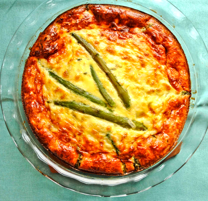 Ham, Egg, And Asparagus Casserole picture