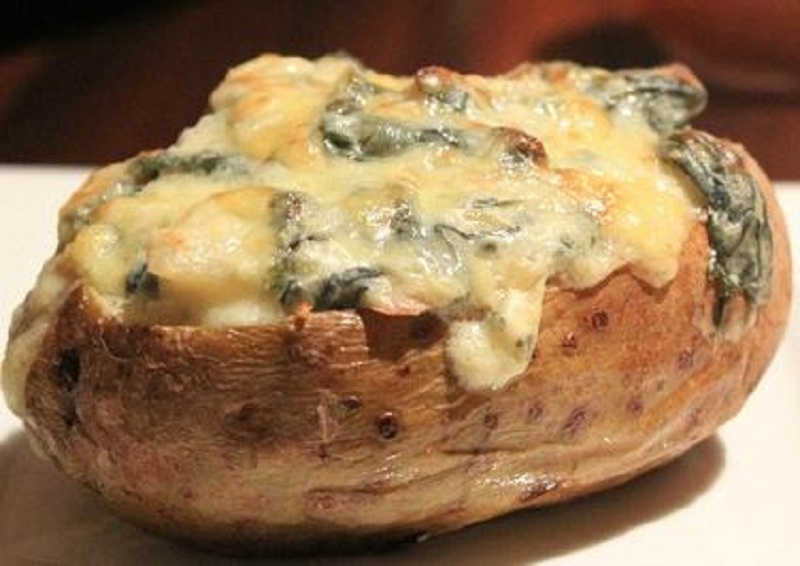 Ham  and Cheese Stuffed Potatoes picture