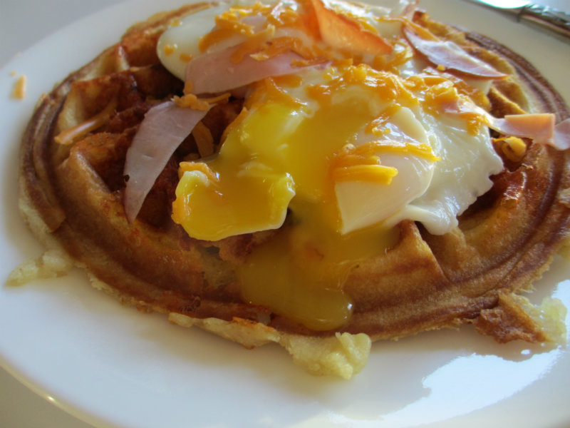Ham and Cheese Waffles picture