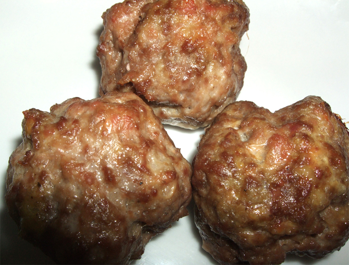 Ham And Pork Meatballs picture