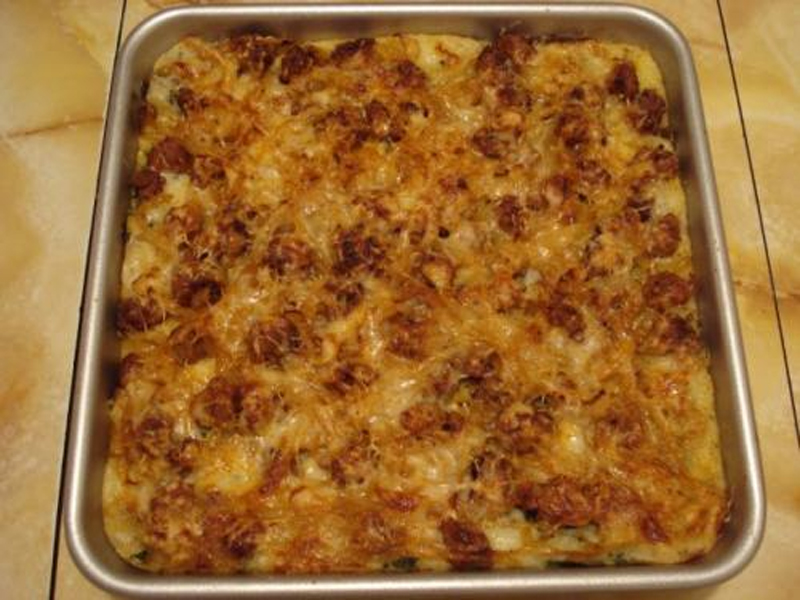Cheesy Ham and Potato Casserole picture