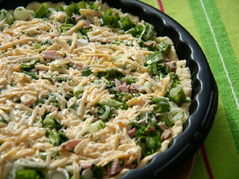 Ham Spinach and Ricotta picture