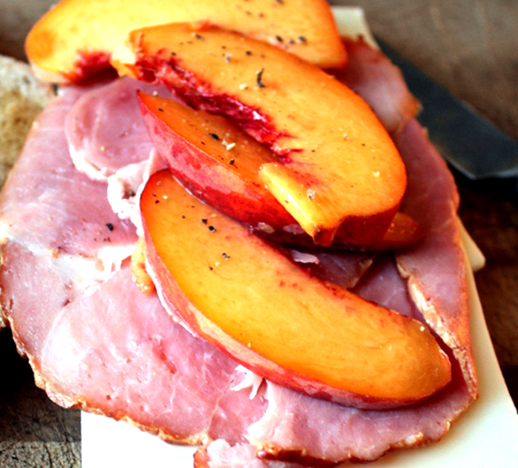 Stir Fry Ham & Peaches picture