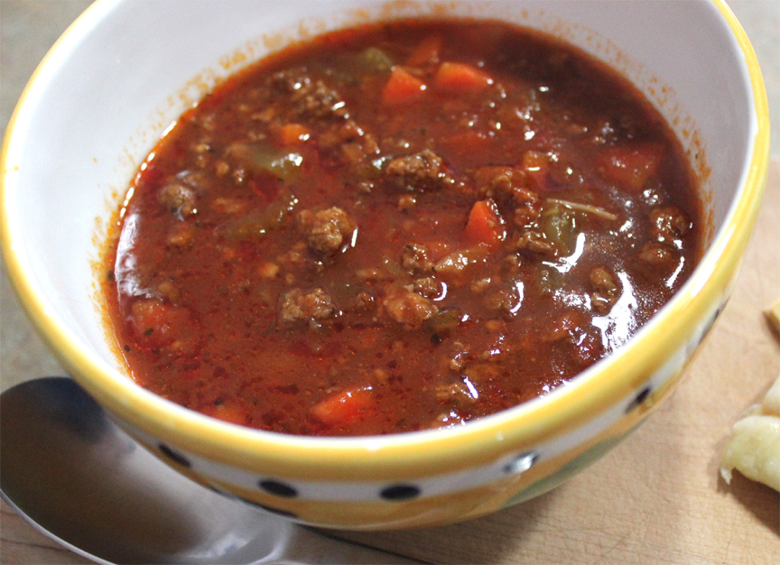 Hamburger Soup picture