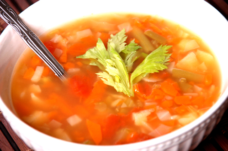Harvest Vegetable Soup picture