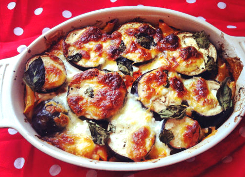 Health and Fiber Rich Aubergine Bake picture