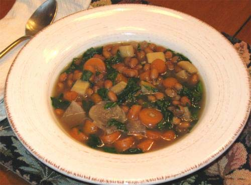 Hearty Ham And Vegetable Soup picture