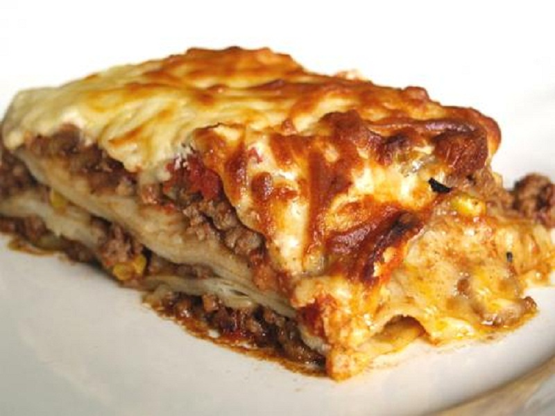 Hearty Sausage Lasagne picture