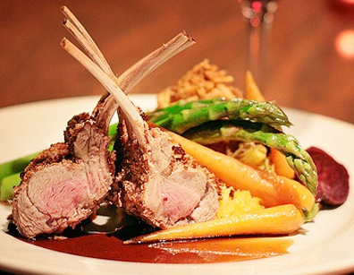 Valentine's Day Herb Crusted Rack of Lamb picture