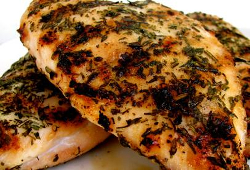 Marinated Chicken with Oregano picture