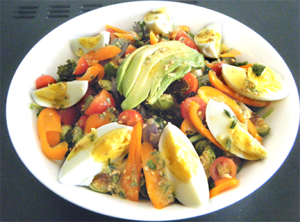 Herring And Vegetable Salad picture