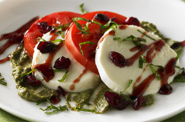 Holiday Cranberry Caprese Salad picture