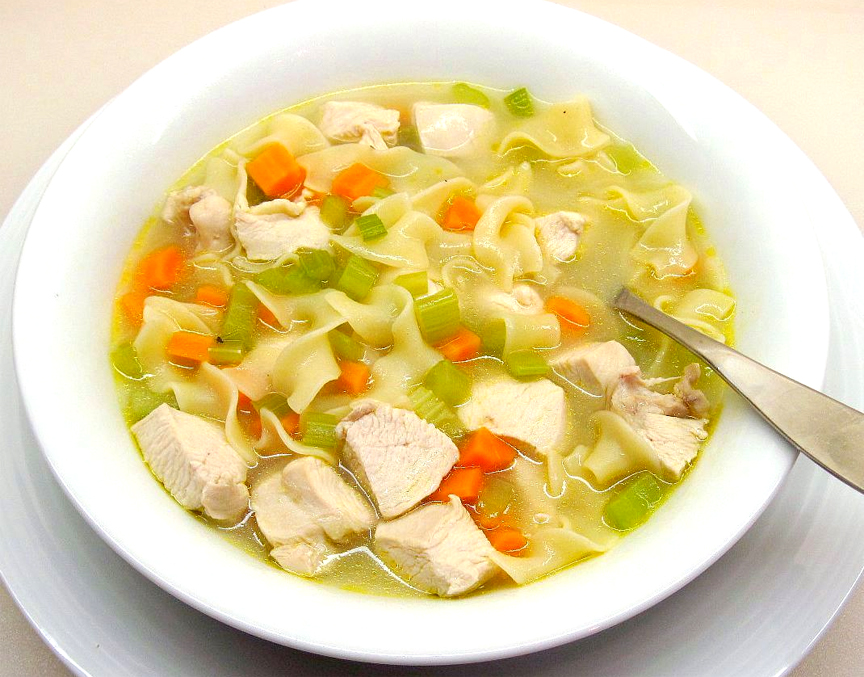Homemade Chicken Noodle Soup picture