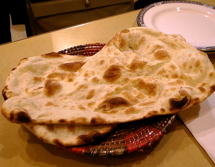 Homemade Naan picture
