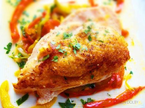 Honey Chicken Breasts With A Touch Of Lime picture