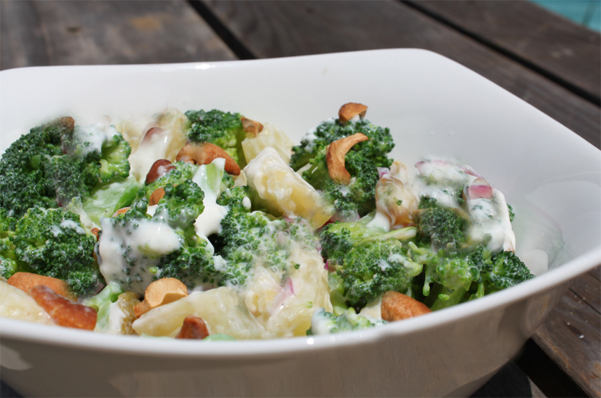 Hot Potato and Broccoli Salad picture