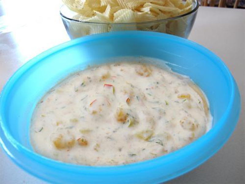 Hot Shrimp Cheese Dip picture