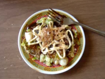 Stir Fry Noodles with Tofu & Apples picture