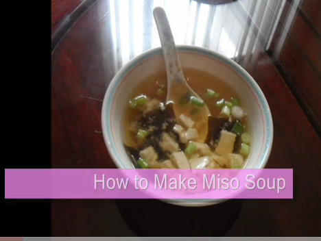 Traditional Miso Soup picture