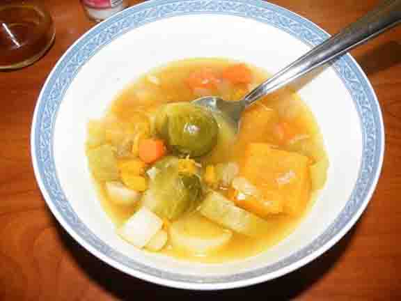 HUNGARIAN LEEK SOUP picture