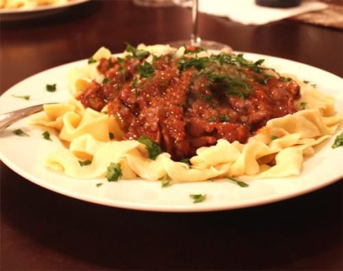 Hungarian Oxtail Ragout picture