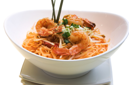 Pad Thai with shrimps picture