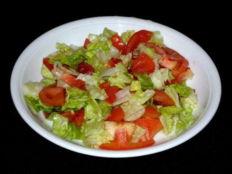 Tomato and Lettuce Salad picture