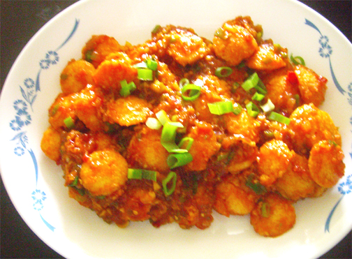 Cocktail Idli Manchurian picture