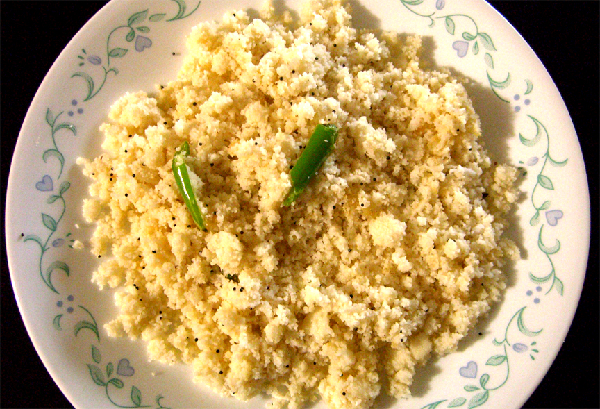 Idli Usli / Idli Upma picture