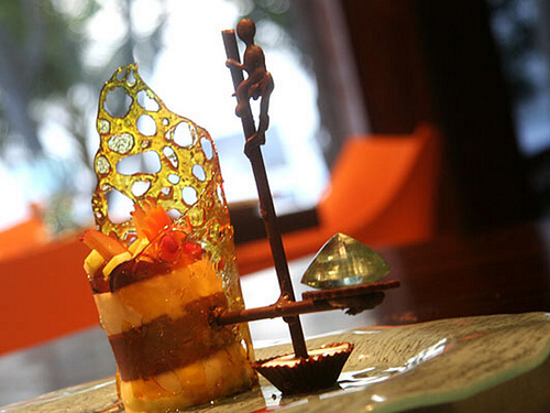 The Forstress Stilt Fisherman Indulgence is truly an expensive dessert that you can indulge into!