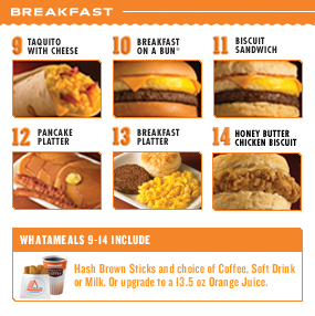 Is Taco Bell the best current fast food breakfast ...