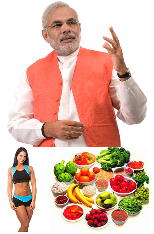 Narendra Modi Speaks on Malnutrition