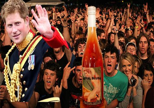 Prince Harry & Wine