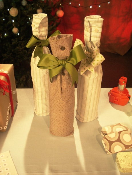 wine bottles as gift