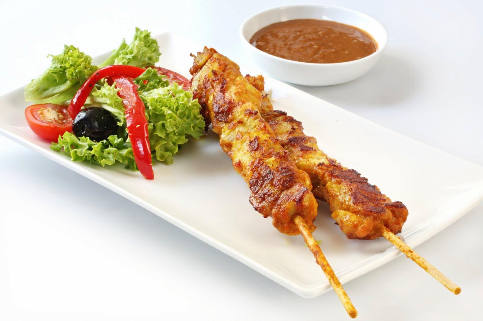 Thai Peanut Garlic Chicken Skewers Recipe By GarLicIt