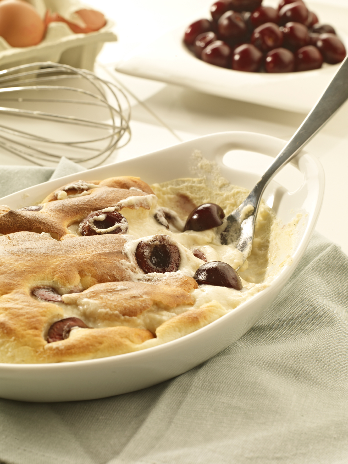 Picota Cherry Gratin Recipe by Foods.From.Spain | iFood.tv