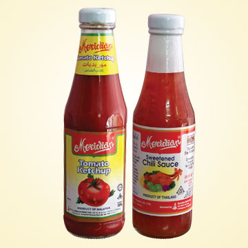Ketchup sauce - common sauce easily available