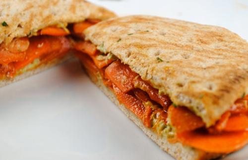carrot sandwich