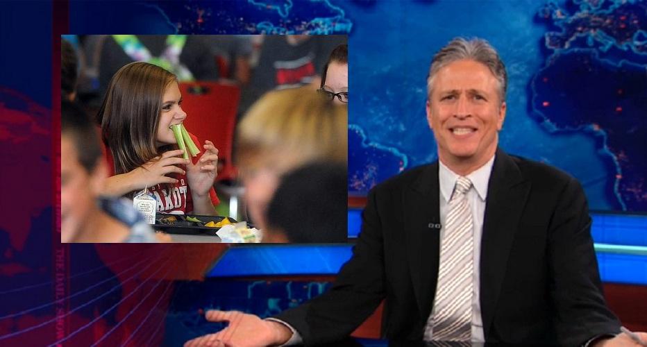 Jon Stewart school lunches
