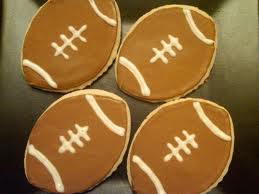 super bowl cookies