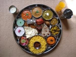 Holi thali