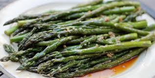 Sesame Asparagus - Crunchy Asparagus Starters