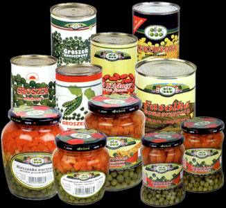 Canning vegetables