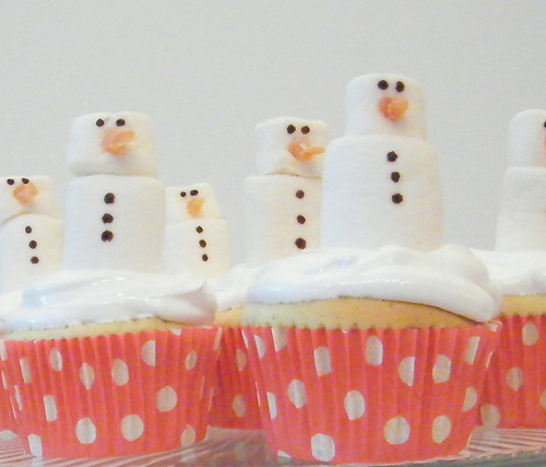 Marshmallow Cupcake Ideas