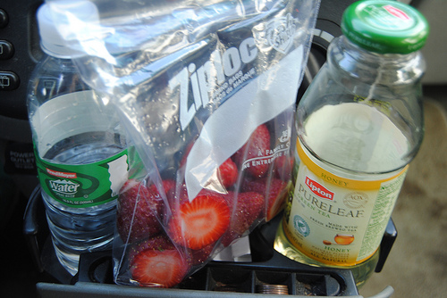healthy lunch on the go