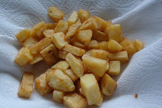 Patatas Fritas - Home Fried Potatoes