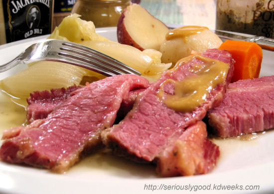 Corned beef is a delicious and easy way to preserve meat.