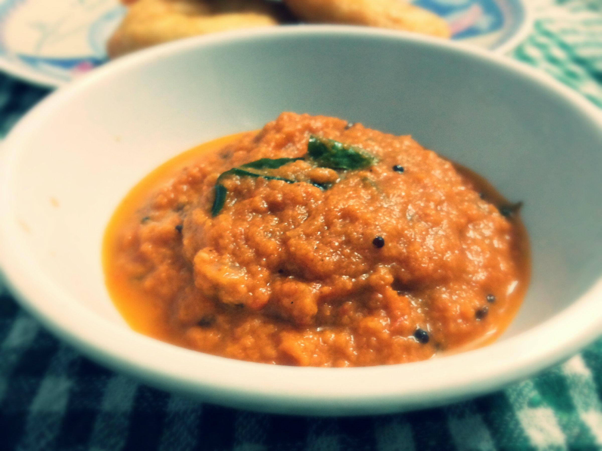 Onion Chutney) Recipe by
