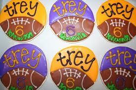 Football Cookies — Desserts For Diabetics